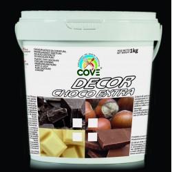 DECOR CHOCO EXTRA Cioccolato Bianco kg 1