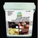 DECOR CHOCO EXTRA Cioccolato fondente kg 1