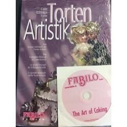 """LIBRO """"TORTEN ARTISTIK"""" + DVD"""