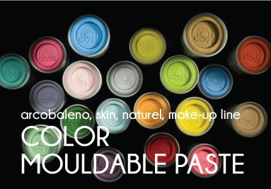 color mouldable paste
